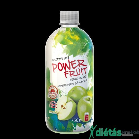 Absolute Powerfruit zöldalma gyümölcsital 750 ml