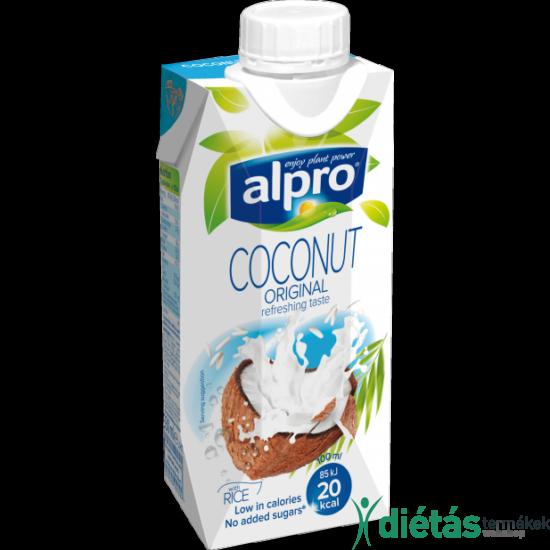 Alpro kókuszital rizzsel  (hozzádott cukormentes) 1000ml