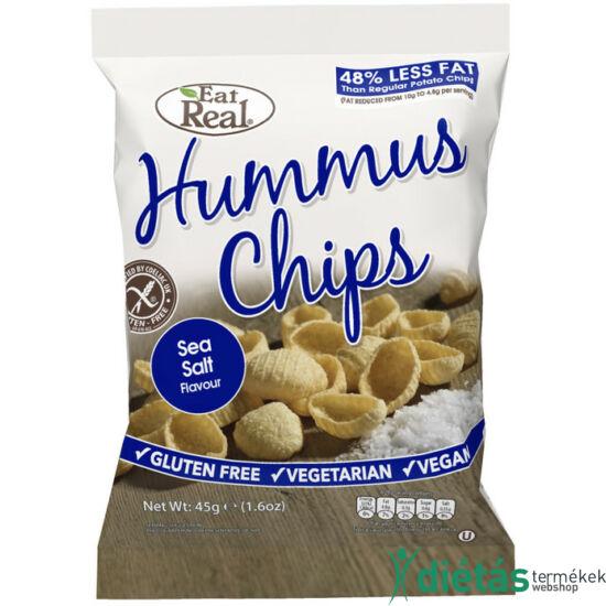 Eat real csicseriborsó chips sós 45g