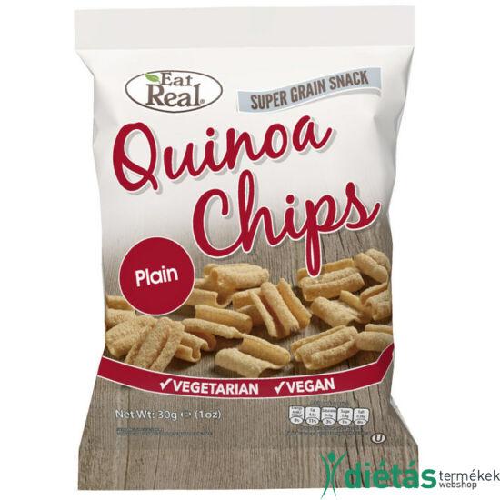 Eat real quinoa chips natúr 30g