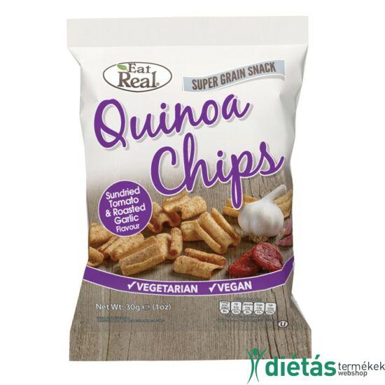 Eat real quinoa chips paradicsom sült fokhagyma 30g