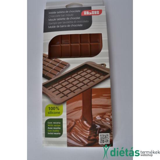 Szilikon táblás csoki forma IBILI