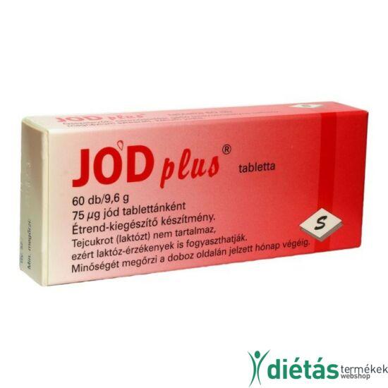 Jód Plus tabletta 60db