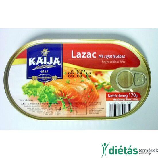 Lazacfilé saját levében - natúr Kaija 170 g