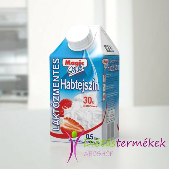 Magic Milk laktózmentes habtejszín UHT 500ml