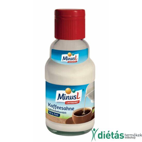 Minus Laktózmentes Kávétejszín 161 ml