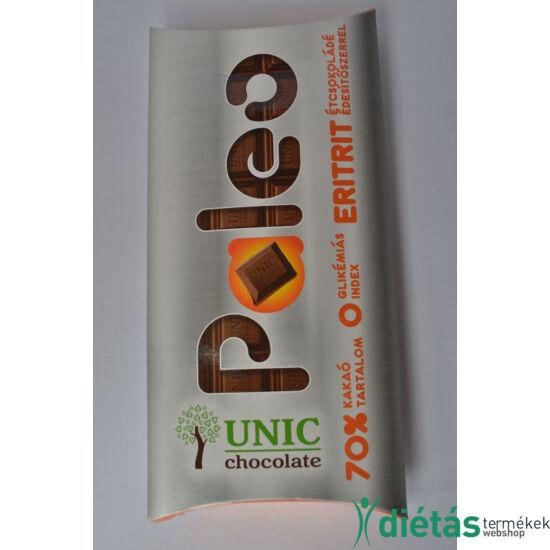 Paleo étcsokoládé eritrittel UNIC 80g