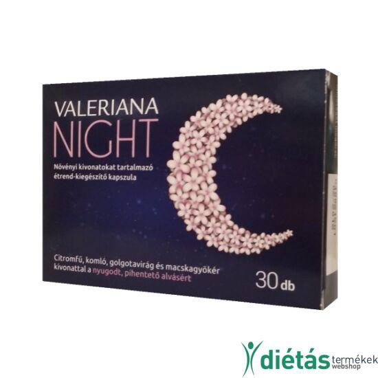 Valeriana Night étrend- kiegészítő kapszula 30db