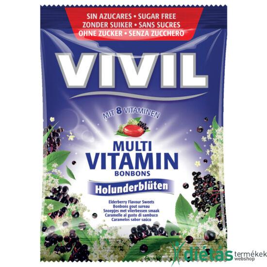 Vivil bodza hozzáadott cukortól mentes cukorka 60 g