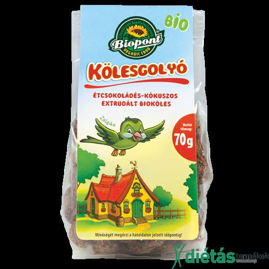 Biopont Bio kölesgolyó étcsokis-kókuszos 70 g