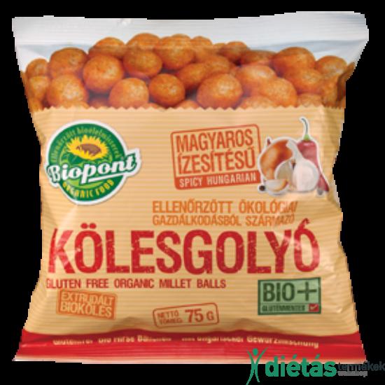 Biopont Bio kölesgolyó magyaros (gluténmentes) 75 g
