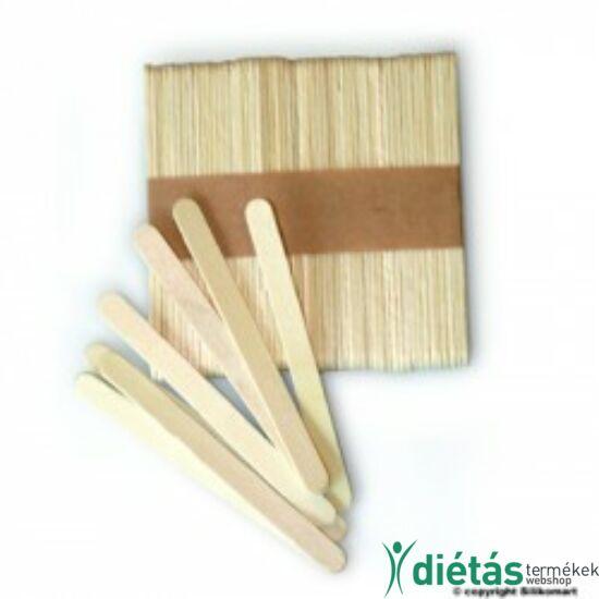 Fa pálcika házi jégkrémek készítéséhez 11cm 100db