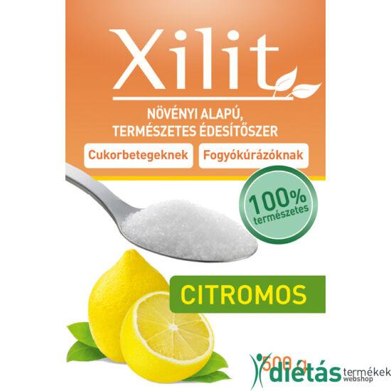 FM Citromos ízű xilit 500g