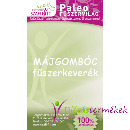 Szafi Reform Paleo Májgombóc fűszerkeverék (gluténmentes) 50g