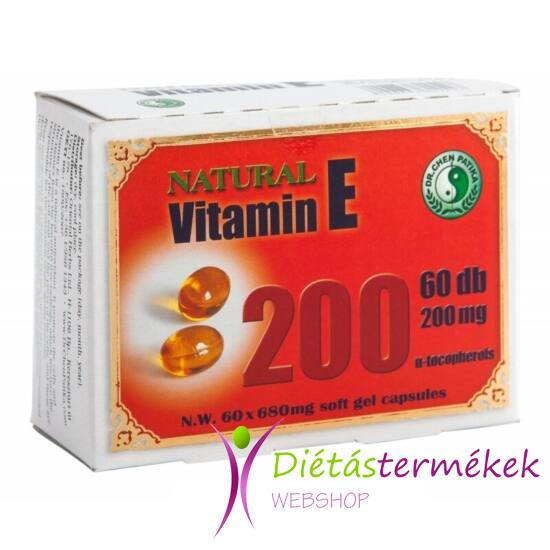 Dr. Chen Natural Vitamin-E 60DB