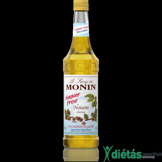 Monin Cukormentes mogyoró szirup 0,7 l
