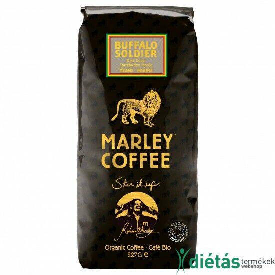 Marley Coffee Buffalo Soldier Dark Roast szemes kávé 227g