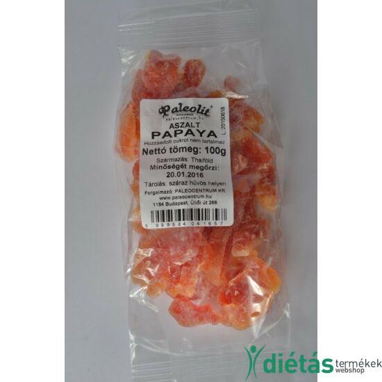 Paleolit aszalt papaya (hozzáadott cukormentes) 100 g