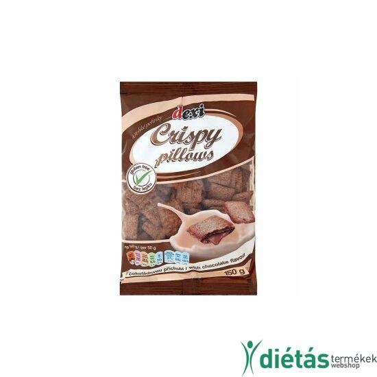 Dexi Crispy pillows chocolate csokoládé ízesítésű párnák 150g