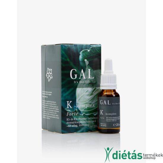 GAL K-komplex Forte vitamin  (1000 mcg) 20 ml
