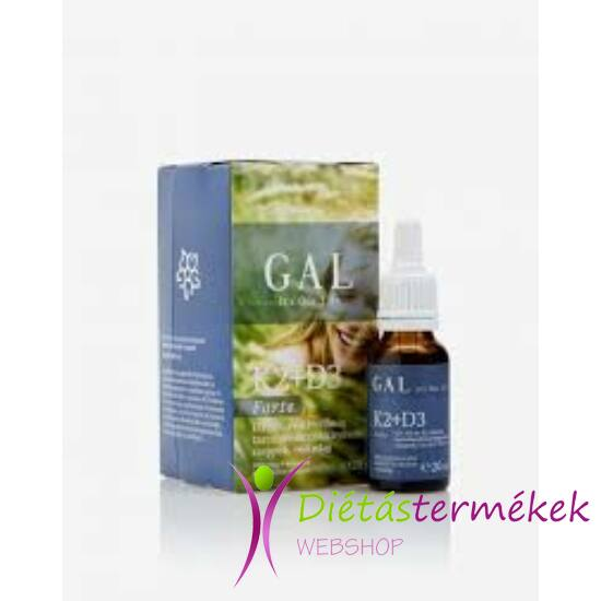 GAL K2+D3 vitamin forte 20 ml