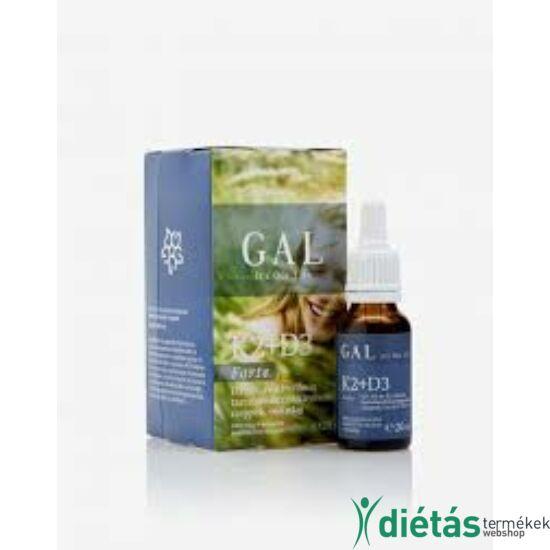 GAL K2+D3 vitamin forte 20 ml