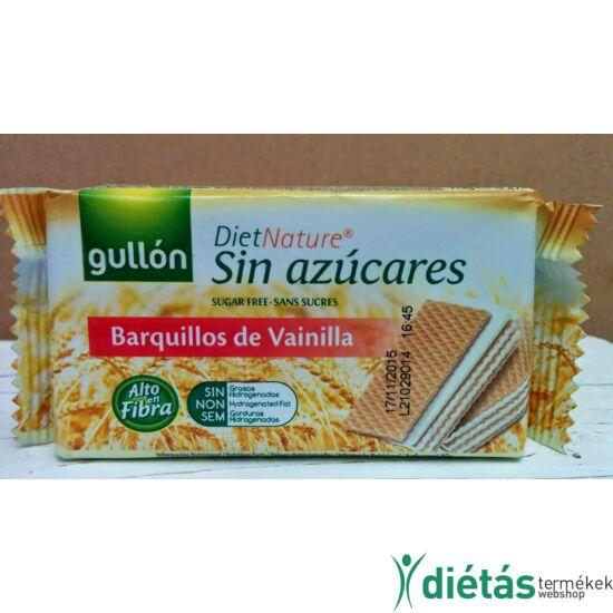 Gullon Barquillos Vainilla vaníliás nápolyi (hozzáadott cukormentes) 70 g