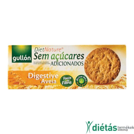 Gullon Digastiva Avena zabpelyhes keksz/ zabkeksz (hozzáadott cukormentes) 410 g