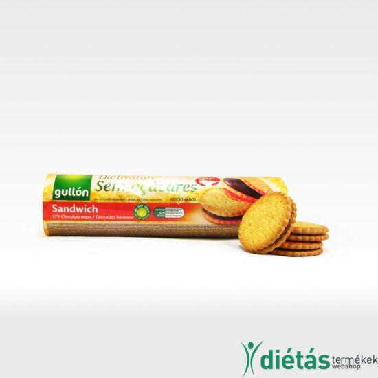 Gullon Szendvics keksz (hozzáadott cukormentes) 250 g