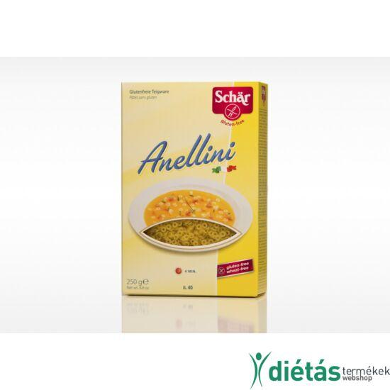 Schär Annelini gluténmentes tészta (tejmentes, tojásmentes) 250 g