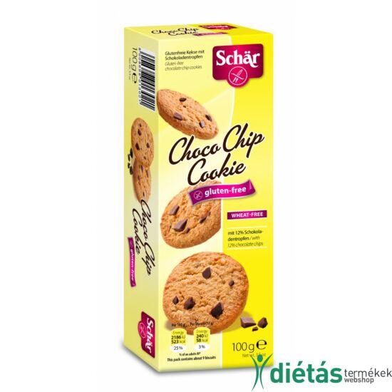 Schär Choco Chip Cookie gluténmentes omlós keksz csokoládé darabokkal 100 g