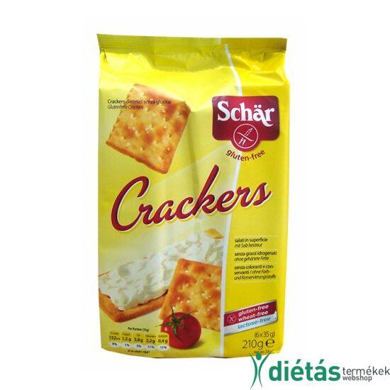 Schär Cracker sós keksz (gluténmentes, tejmentes) 210 g