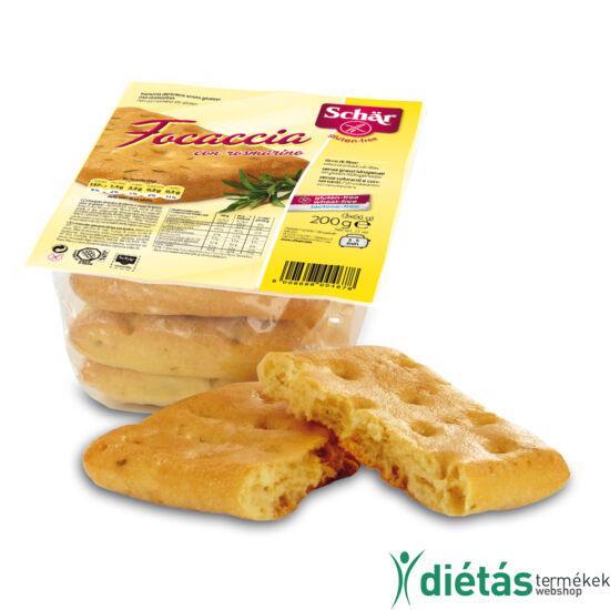 Schär Rozmaringos lepény (glutén-, tej-, tojásmentes) 200 g