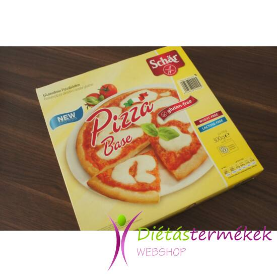 Schär Gluténmentes pizza alap  (tejmentes, tojásmentes) 300 g