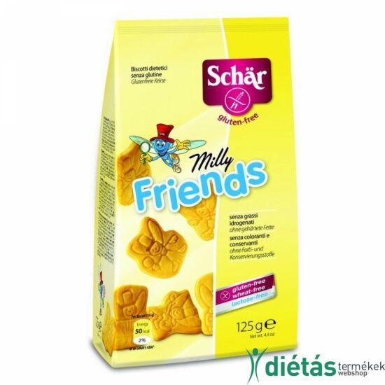 Schär Milly Friends keksz (gltuénmentes, tejmentes, tojásmentes) 125 g