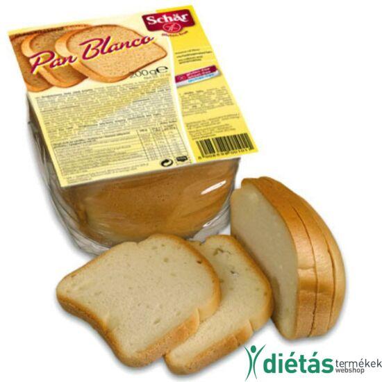 Schär Pan Blanco fehér kenyér (gluténmentes, tejmentes, tojásmentes) 200 g