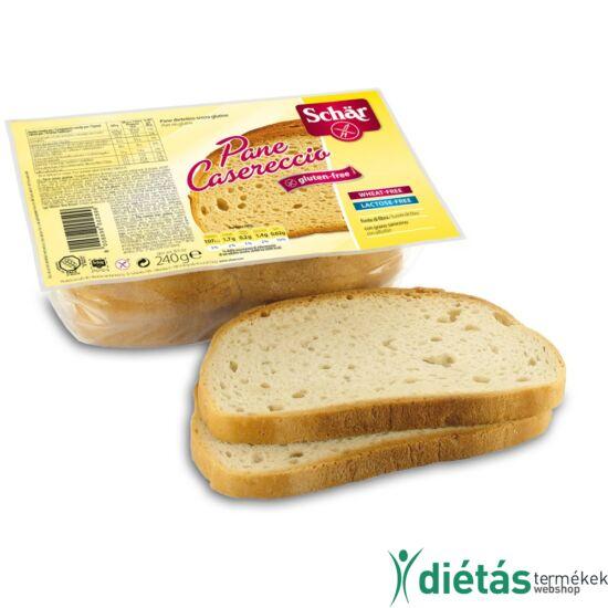 Schär Pane Casereccio kenyér (gluténmentes, tejmentes, tojásmentes) 240 g