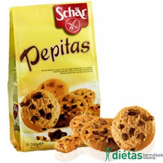 Schär Pepitas Gluténmentes csokoládés keksz 200 g