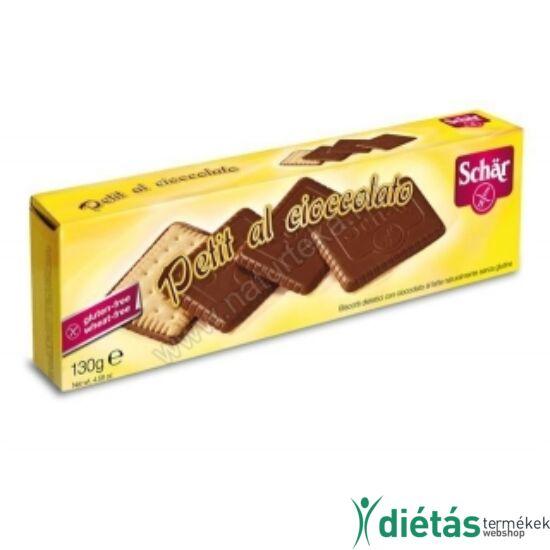 Schär Petit Chocolate Gluténmentes csokis keksz 130 g