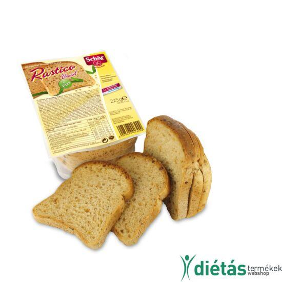 Schär Rustico szeletelt kenyér (gluténmentes, tejmentes, tojásmentes) 225g