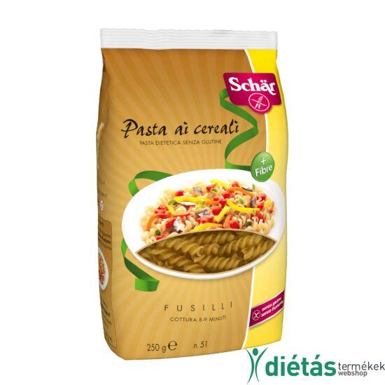 Schär többgabonás gluténmentes fusilli tészta (tojásmentes) 250 g