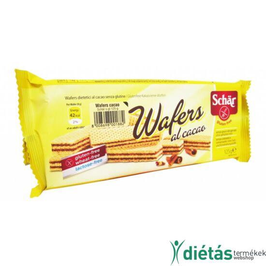 Schär Wafer kakaókrémes ostya (gluténmentes, tejmentes, tojásmentes) 125 g