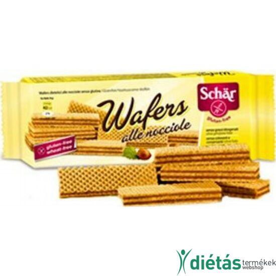 Schär Wafer gluténmentes mogyorós ostya (tojásmentes) 125 g