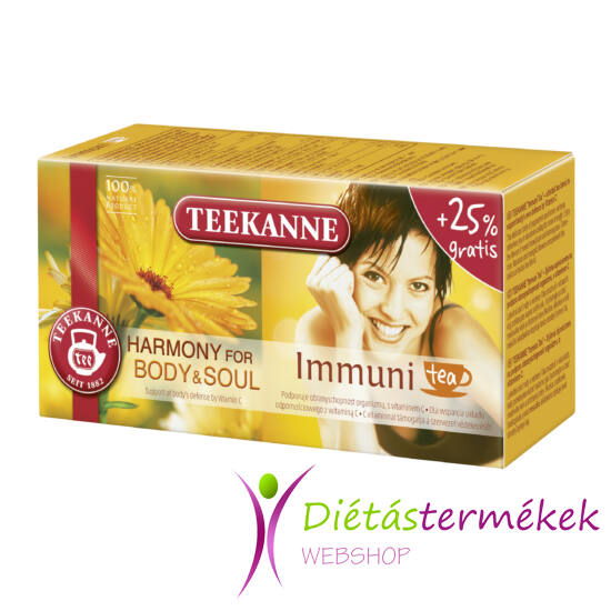 Teekanne Natural Herbal Tea Immuni tea 40g