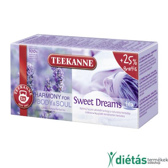 Teekanne Natural Herbal Tea Sweet Dreams tea új kiszerelés 34g