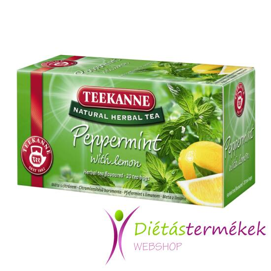 Teekanne Natural Herbal Tea borsmenta citrommal 30g
