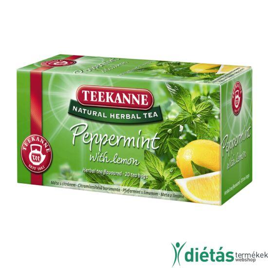 Teekanne Natural Herbal Tea borsmenta citrommal 30g