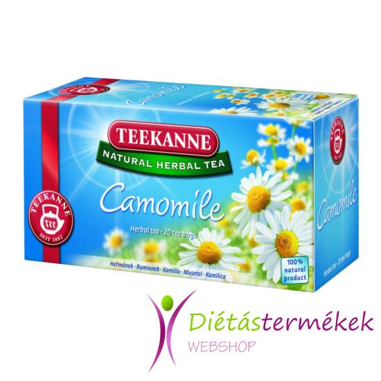 Teekanne Natural Herbal Tea kamilla 22g