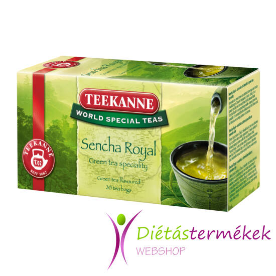 Teekanne World Special Teas Sencha Royal gyümölcsös zöld tea 35g