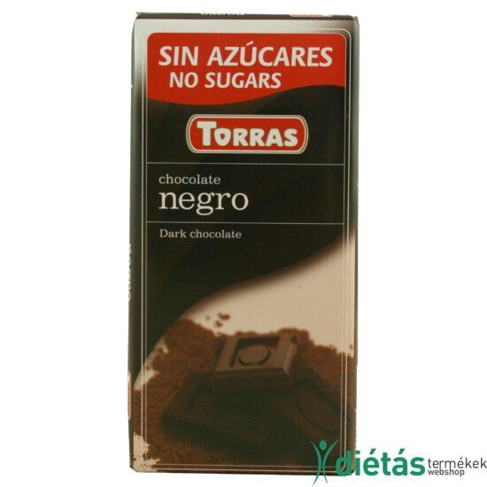 Torras Étcsokoládé hozzáadott cukor nélkül 75 g